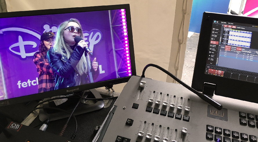 Disney Fan Fest with Sabrina Carpenter - Rob Easton Lighting Director for The Event Department